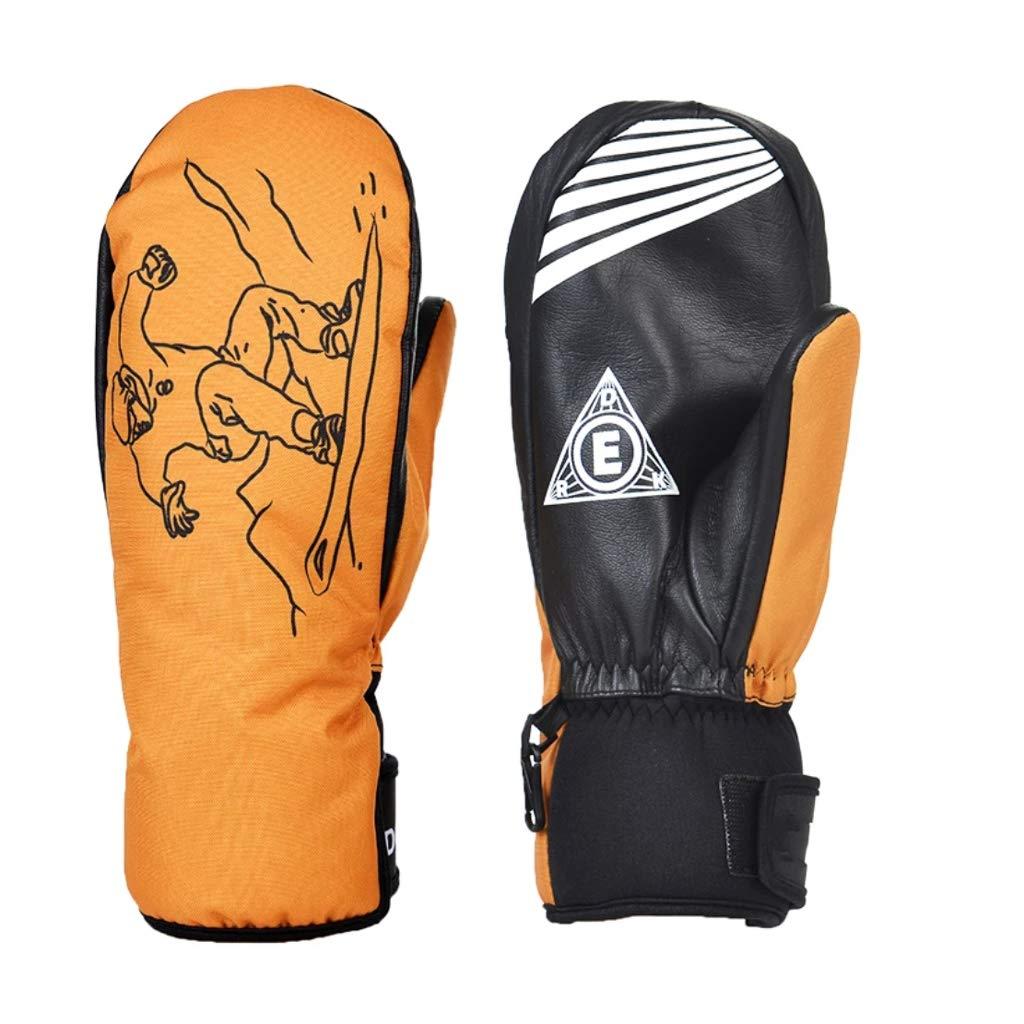 AZBYC Doppel - Board - Handschuhe Für Männer, In Fünf Finger Wasserdicht Ski - Handschuhe, Ski - Ausrüstung