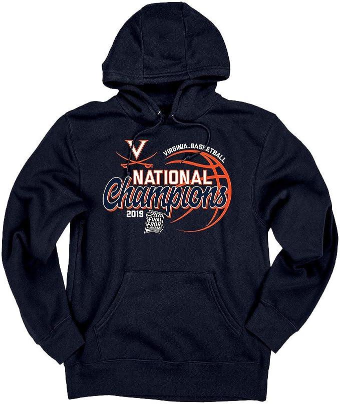 Elite Fan Shop NCAA Mens Virginia Cavaliers Hoodie Sweatshirt Dark Heather Arch Virginia Cavaliers Dark Heather XX Large