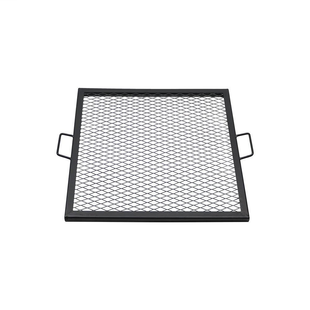 Sunnydaze X-Marks Fire Pit Cooking Grill Grate, Outdoor Square BBQ Campfire Grill, Camping Cookware, 24 Inch by Sunnydaze Decor
