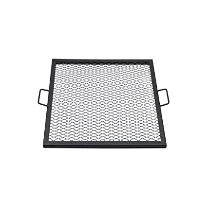 Amazon Com Sunnydaze X Marks Fire Pit Cooking Grill Grate Outdoor
