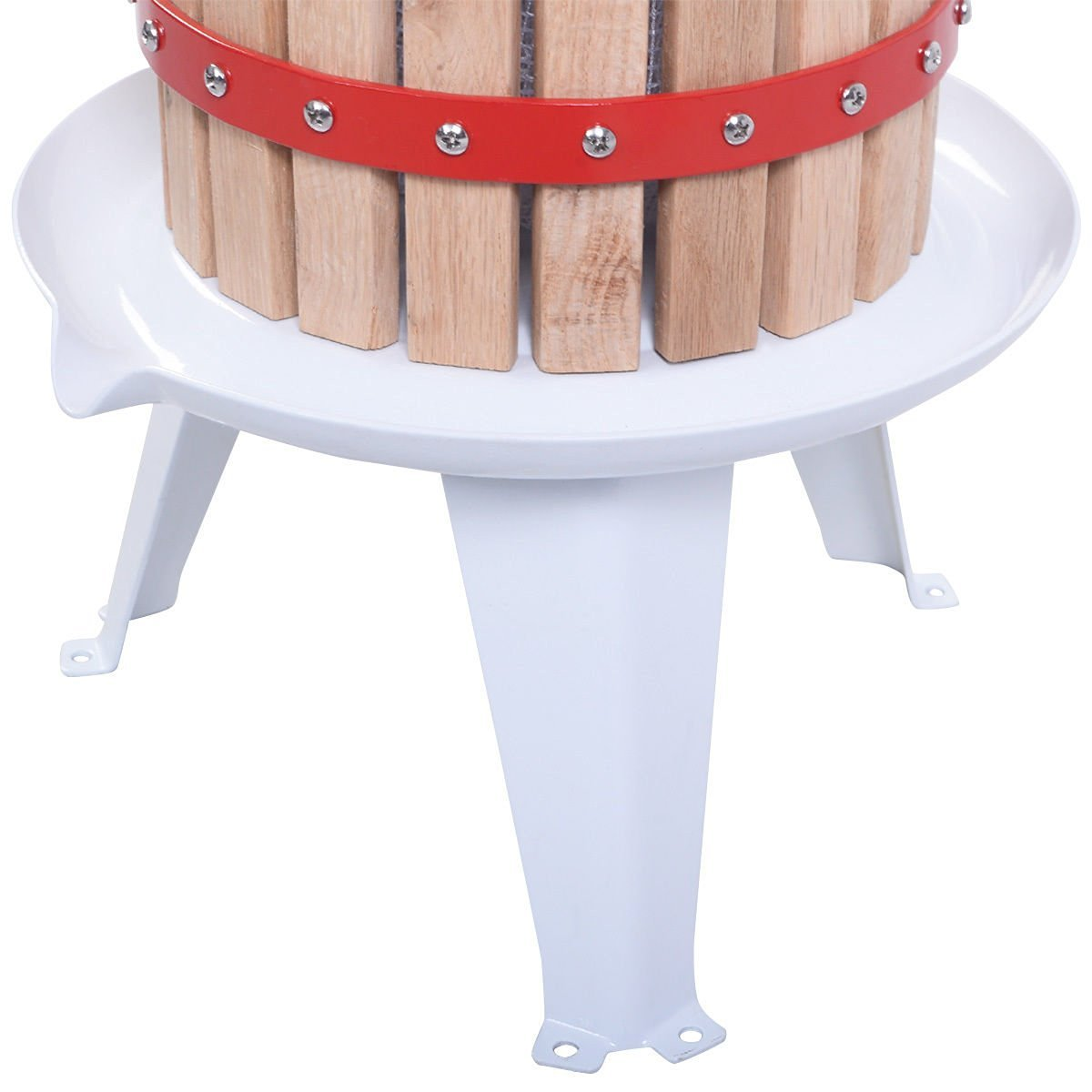 Useful UH-FP165 1.6 Gallon Solid Wood Basket Fruit and wine Press by Useful. (Image #6)