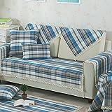 Sofa cushions, four seasons simple cushion,fabric fashion sofa mat summer cool mat-D 90x120cm(35x47inch)