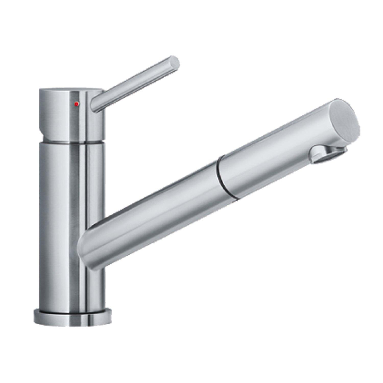 Blanco 518719 ALTURA-S Küchenarmatur Edelstahl gebürstet Hochdruck ...