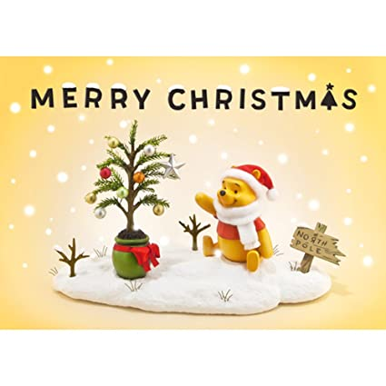 Disney Christmas Cards.Amazon Com Disney Winnie The Pooh Christmas Story 3d