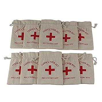 Amazon.com: Hangover – Kit bolsas de tela de algodón ...