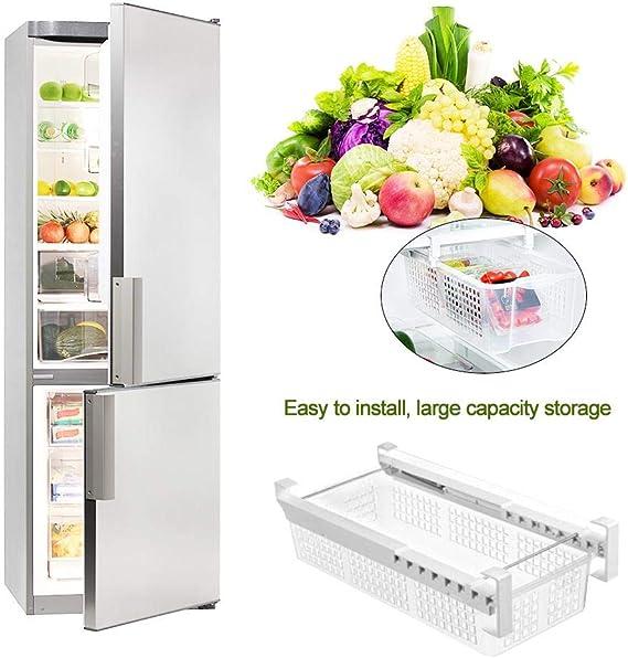 Nevera Organizador Cesta - Smart Design Refrigerator Pull out ...