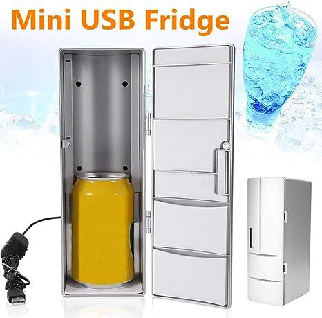 Xljh 10W Mini USB Frigorífico Congelador Latas Beber Cerveza Más ...