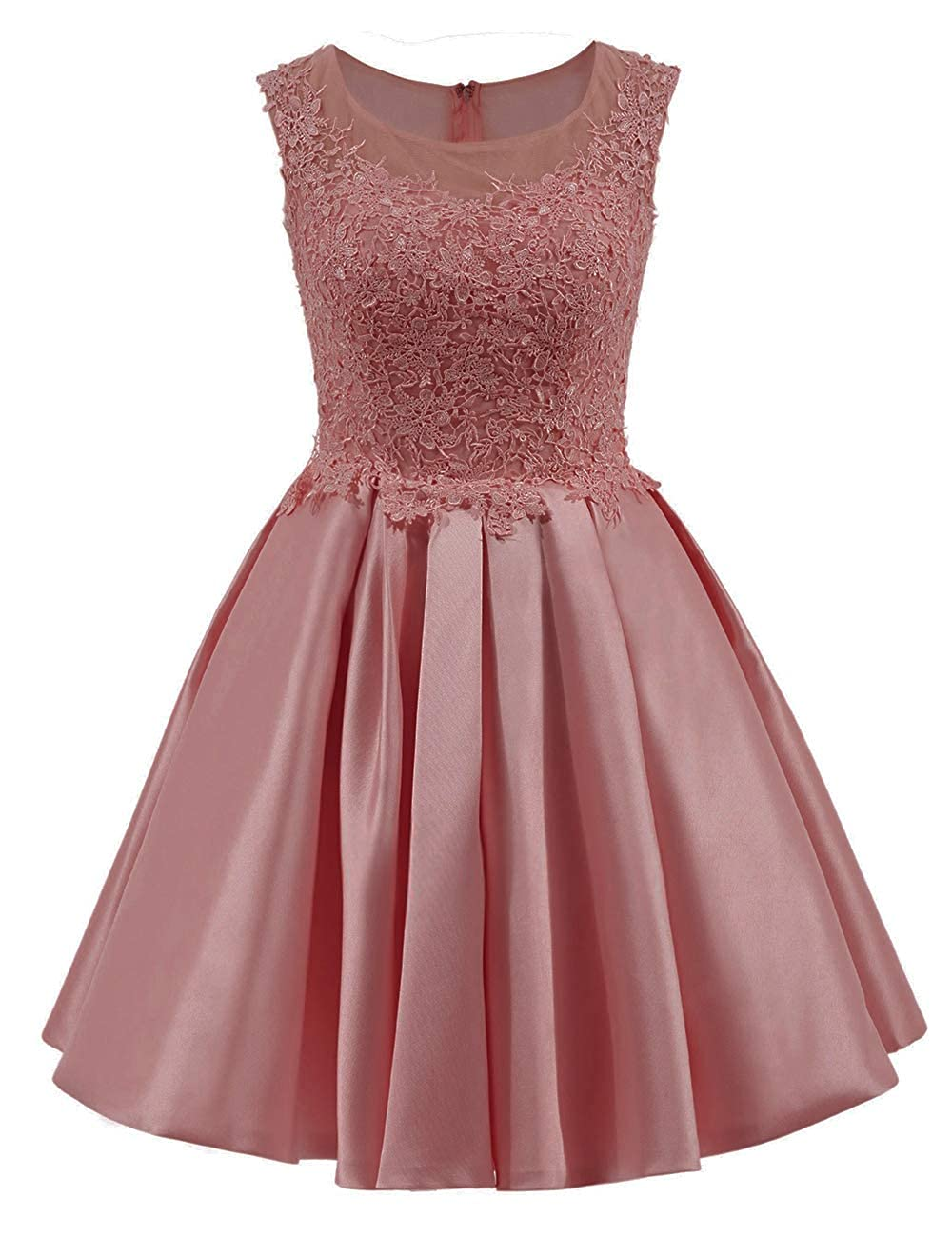 bluesh Uther Short Homecoming Dress Cap Sleeves Appliques Vintage Swing Dress Cocktail Dresses