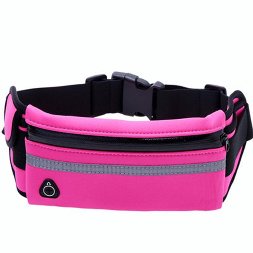 Westeng Unisex Sacs Banane Sport Imperméable Waist Bag Adjustable Sac de Ceinture pour Jogging Randonnée Cyclisme Voyage