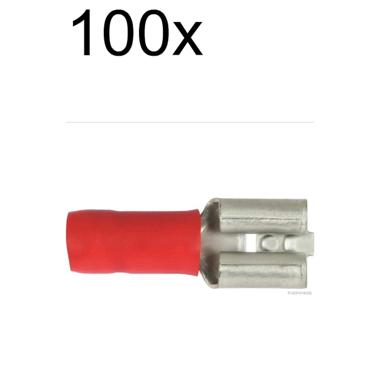 100X Herth+Buss Elparts Quetschverbinder 50252510