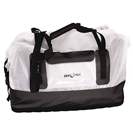 af6bcd67fe24 Amazon.com  Dry Pak Waterproof Duffel Bag Clear Large  Sports   Outdoors