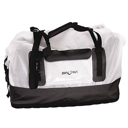 9b7b5613ae Amazon.com  Dry Pak Waterproof Duffel Bag Clear Large  Sports   Outdoors