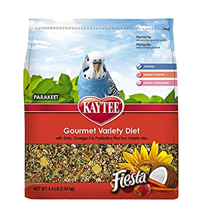 Kaytee Fiesta for Parakeets from Central Pet Manufacturing