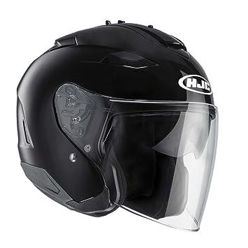 HJC 11833011 Casco de Moto, Negro, Talla XXL