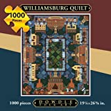 quilt puzzle - Dowdle Folk Art Williamsburg Quilt Jigsaw Puzzle