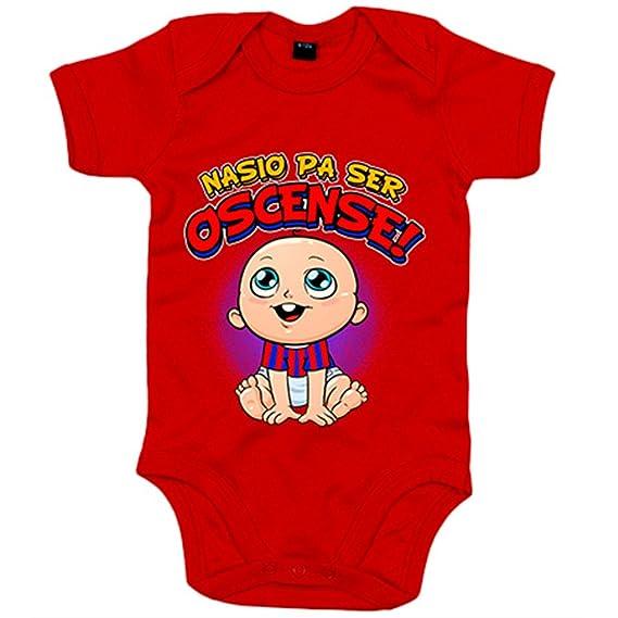 Body bebé nacido para ser Oscense Huesca fútbol - Azul Royal, 6-12 ...