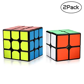 Puzzles & Games Funs Ghost Cube 2x2x2 Speed Cube For Brain Training Toys For Children Kids
