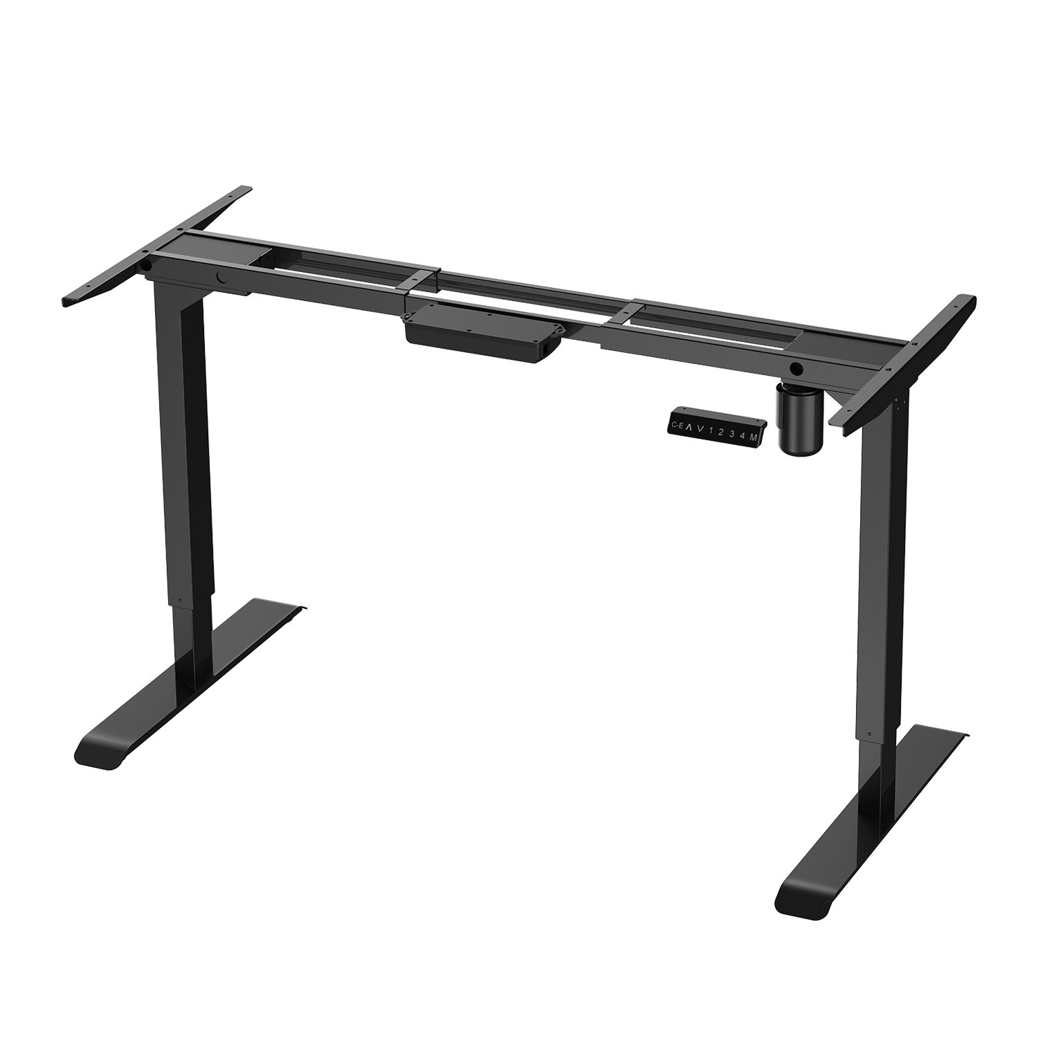 AIMEZO 45'' H Ergonomic Home Office Desk Height Adjustable Standing Desk Electric Desk Frame Sit to Stand Desk w/ 4 Presets 1-Touch by AIMEZO