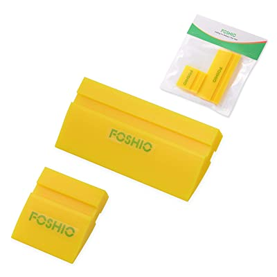 FOSHIO Mini Squeegee Window Film Tools,Rubber Squeegee Water Blade Decal Wrap Applicator Car Home Tint: Automotive