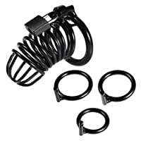 Utimi Cock Cage Male Chastity Device Locked Cage Sex Toy for Men