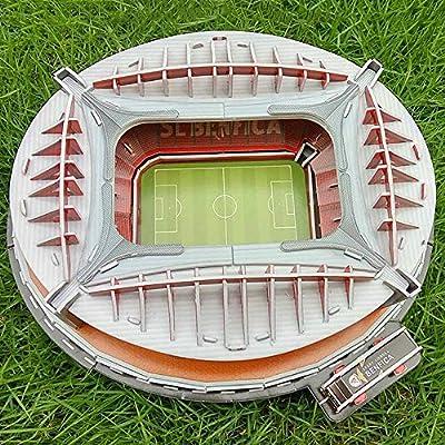 Tkfy Coppa Del Mondo Assemblare Puzzle Spagna Benfica Stadio 3d Modello Di Calcio Campo Calcio Fans Memorabilia Giocattoli Regalo Per Lo Sviluppo Dei Bambini Intelligenza