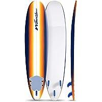 Wavestorm 8' Surfboard, Sunburst Graphic