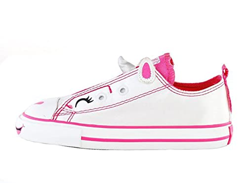 converse unicorn. amazon.com | converse chuck taylor all star simple slip white/pink unicorn toddlers 6 sneakers d