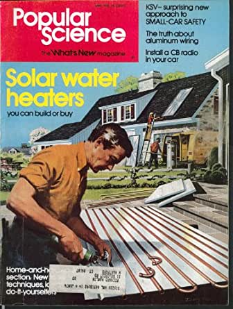 POPULAR SCIENCE Aluminum Wiring Kinetic Safety Vehicle Solar Cells 5 1976