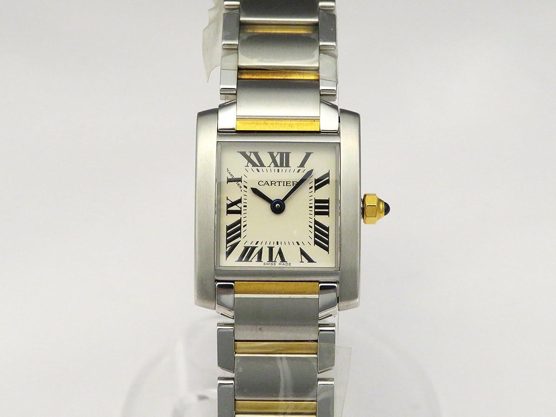 (カルティエ) CARTIER 腕時計 タンクフランセーズSM W51007Q4 シルバー レディース [並行輸入品] B00AHRHG7G