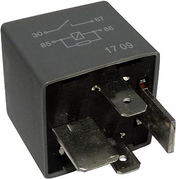 Aerzetix C40264 Arbeitsstromrelais Kompatibel Mit 8d0951253 7m0951253a 191937503 Für Auto Auto