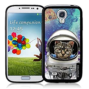 Cool Painting Shawnex Springink Hipster Quote Think Positive Galaxy Cross Thinshell Case Protective S4 Case