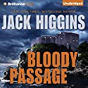 Bloody Passage Audiobook by Jack Higgins Narrated by Christopher Lane