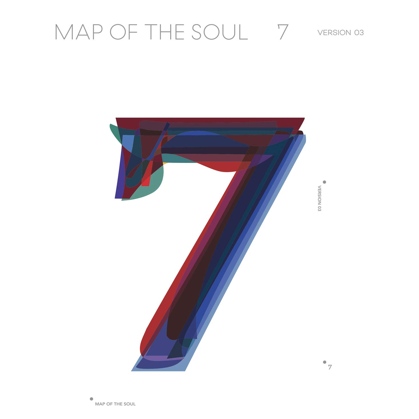 BTS - Map Of The Soul 7 (Version 3) - Amazon.com Music