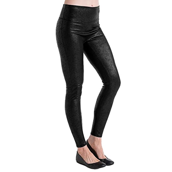 75d4bcaa2655c8 SPANX Assets - Red Hot Label - Structured Shine Leggings, Very Black,  X-Large: Amazon.co.uk: Clothing