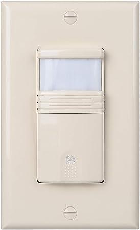 Amazon.com: Interruptor de luz con sensor de movimiento ...