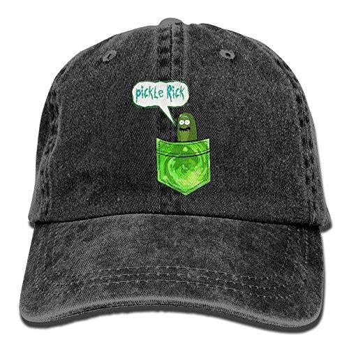 FUNINDIY Classic Unisex Baseball Cap Ball Hat I'm Pickle Rick