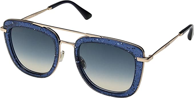 90d104f675f Jimmy Choo Women s Glossy S Blue Blue Gradient One Size  Amazon.co.uk   Clothing