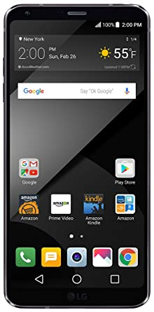 LG G6+ - 128 GB - Unlocked (AT&T/T-Mobile/Verizon) - Black - Prime Exclusive