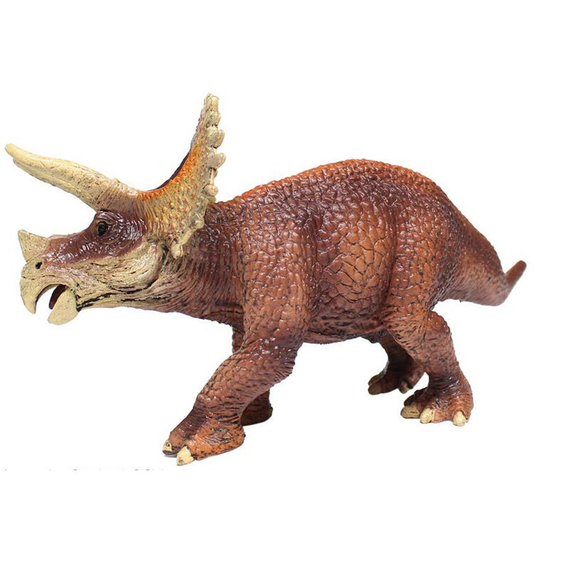 Decorations Themed Parties Realistic Plastic Toy Dinosaur Figure for Children NiGHT LiONS TECH Dinosaur Toy solid Triceratops Figurine 7.87 X 4.13X 3.14 Inches