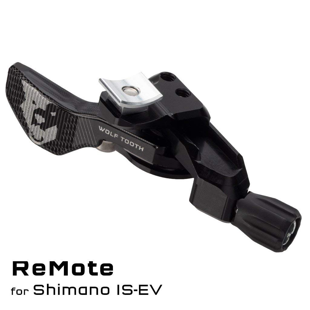 Wolf Tooth Components Light Action Remote Black, Shimano I-Spec EV by Wolf Tooth Components