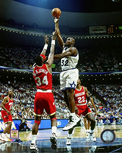 Shaquille O'Neal Orlando Magic 1994-95 Action Photo (Size: 8