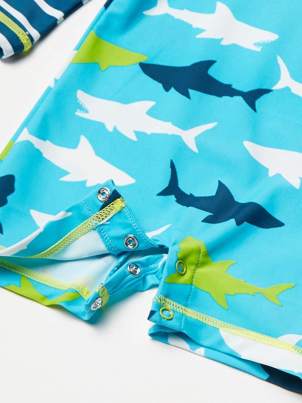 Hatley Baby-Jungen One Piece Rash Guard Swimsuits Badeanzug