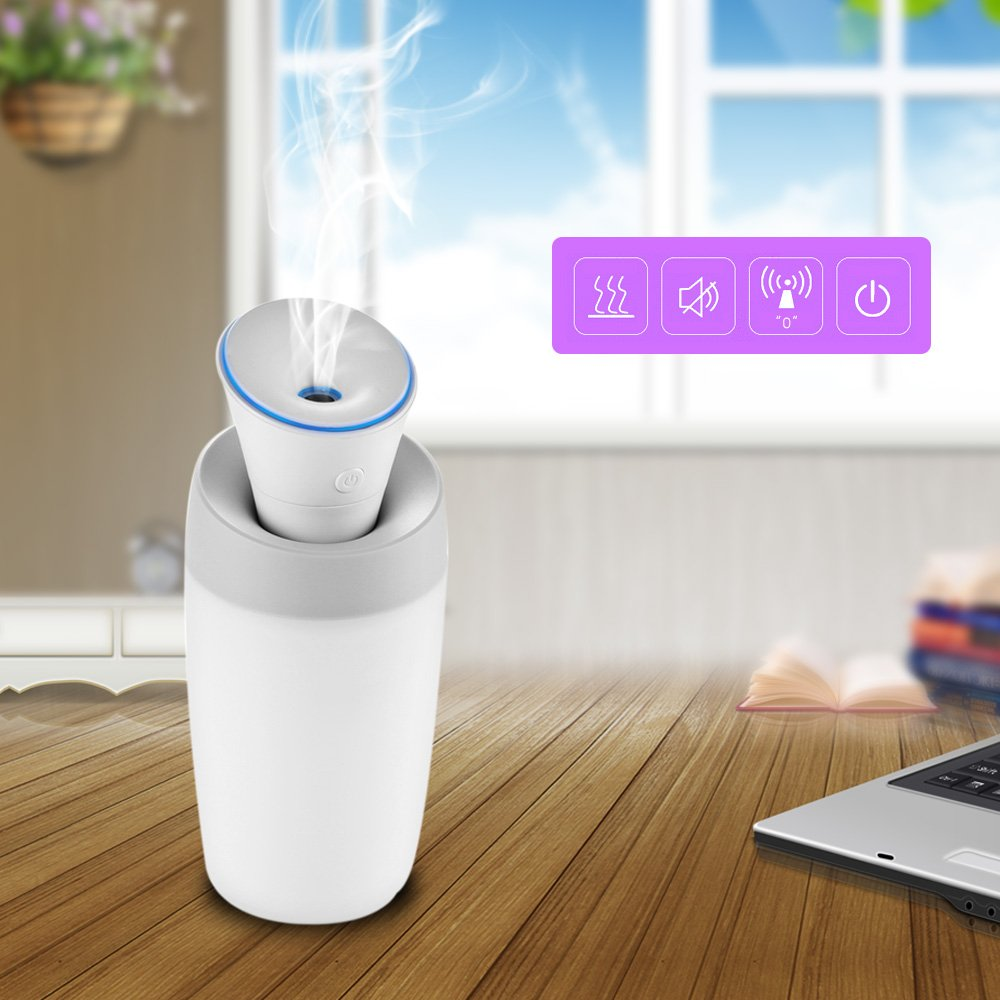 Water Bottle Humidifier (Use Portable for Travel)