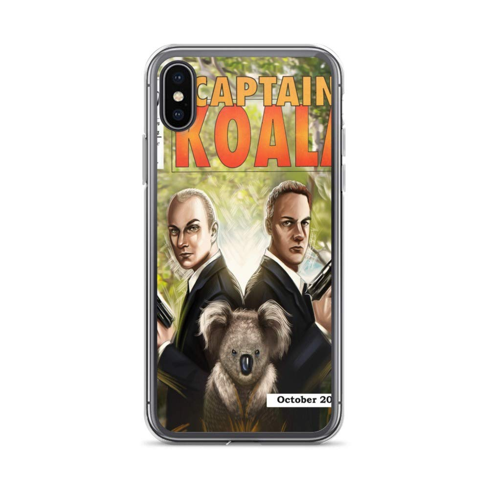 iPhone 6 Plus/6s Plus Case Anti-Scratch Comic Strip Transparent Cases Cover Captain Koala # Comics Comedian Crystal Clear