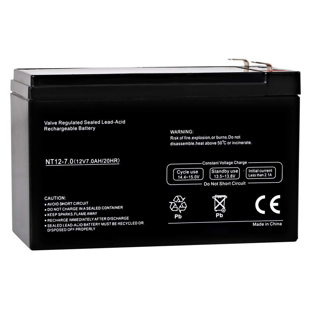 Hykolity 12V 7Ah SLA Battery Replacement for Leoch DJW12-7.0 brand product