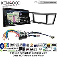 Volunteer Audio Kenwood Excelon DNX694S Double Din Radio Install Kit with GPS Navigation System Android Auto Apple CarPlay Fits 2013-2014 Honda Civic