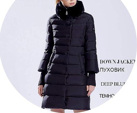 Amazon.com: Chaqueta de invierno para mujer con capucha ...