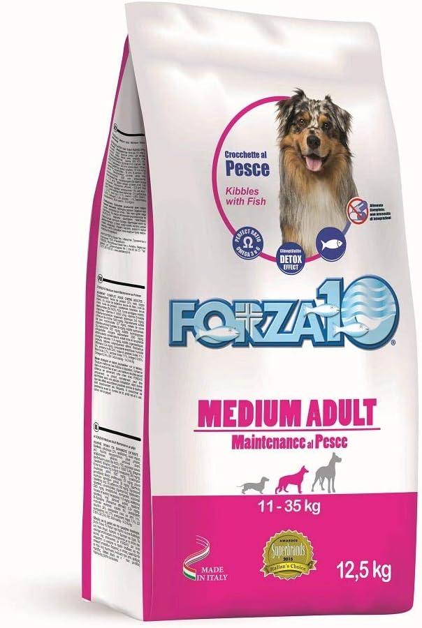 Forza 10 Medium Adult - Alimento seco para Perro, 12,5 kg