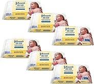Kit Lenços Umedecidos Johnson's Baby Recém-nascido Sem Fragrância 288 unidades