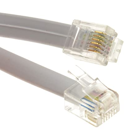 Outstanding Amazon Com Kenable Flat Rj12 6P6C To Rj12 6P6C Cable Plug To Plug Wiring Cloud Hisonuggs Outletorg